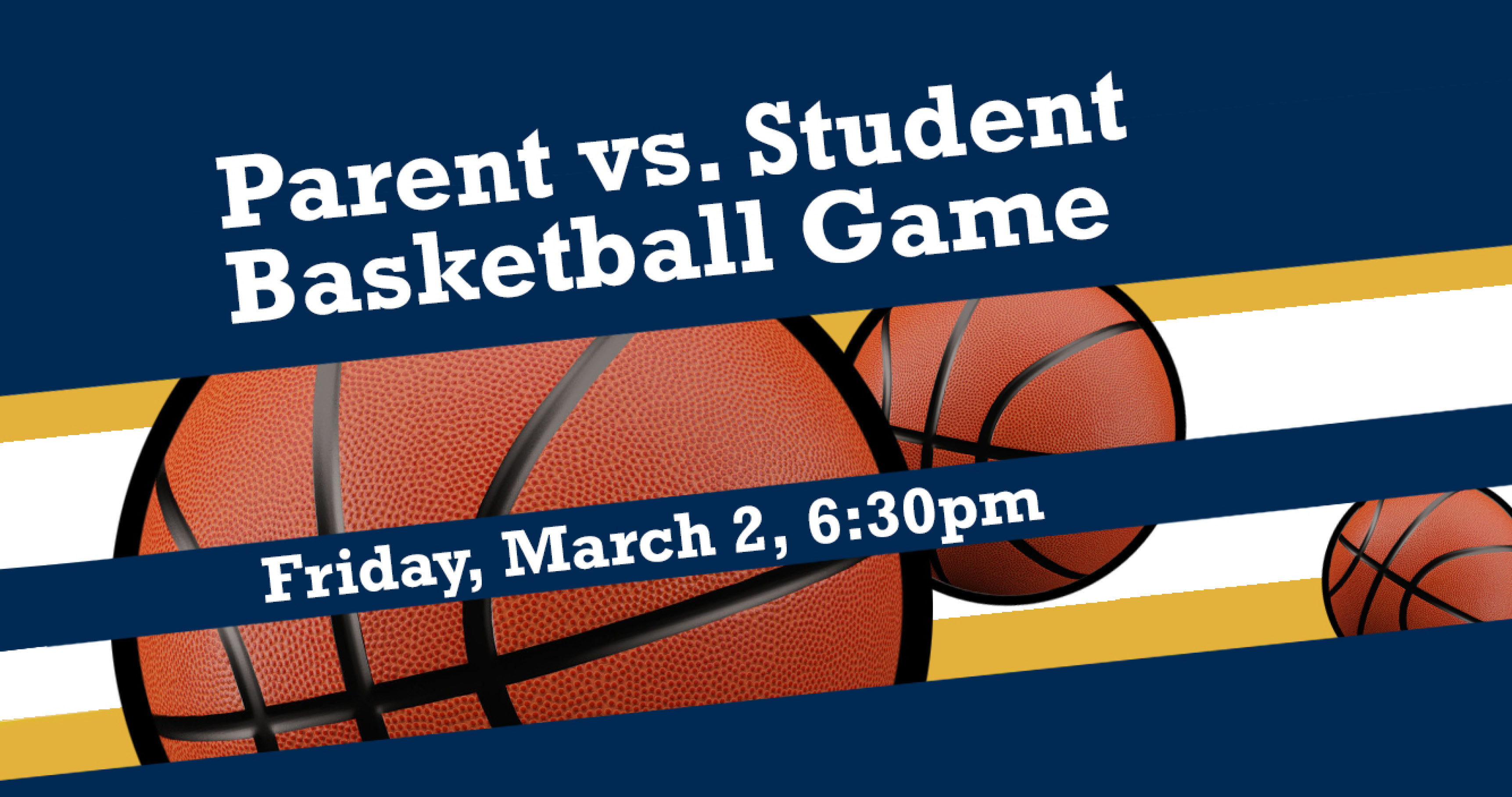 Parent Student Basketball Game