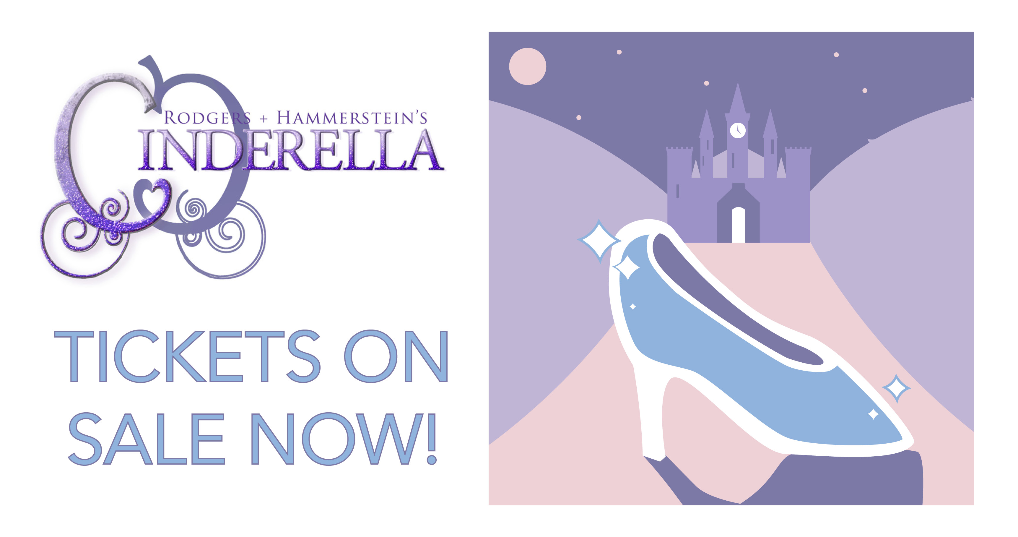 Tickets on sale for the spring musical, Cinderella!