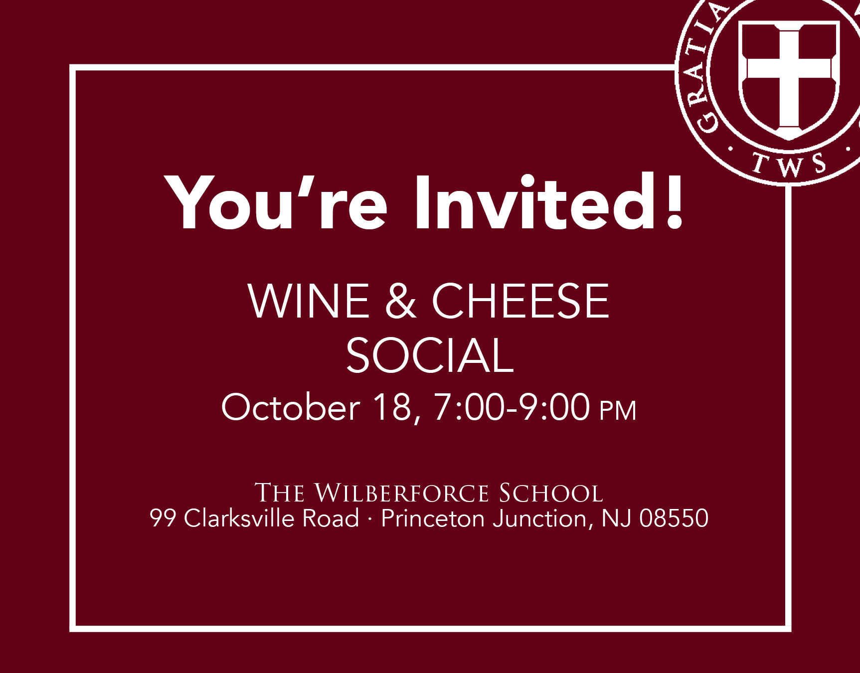Invite a friend to our Wine & Cheese Social and Open House. RSVP here.